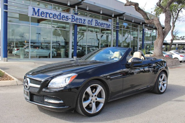 Pre owned 2012 mercedes benz slk slk350 convertible in for Boerne mercedes benz